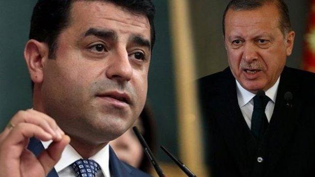 Demirtaş'tan Erdoğan'a tavsiye