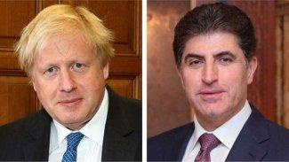 Kürdistan Bölgesi Başkanı'ndan Boris Johnson'a tebrik mesajı