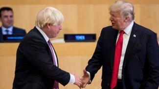 Trump'tan İngiltere Başbakanı Johnson'a kutlama