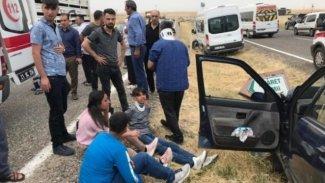 Diyarbakır'da kaza: 4'ü çocuk 8 yaralı