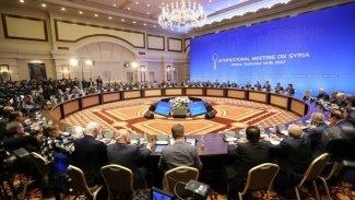 Astana'da Suriye konulu toplantıda DSG vurgusu