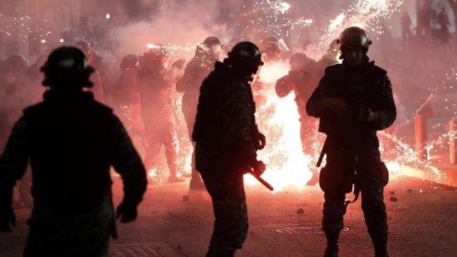Lübnan′daki protestolarda şiddetli çatışma