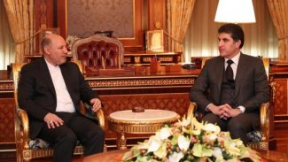 Başkan Neçirvan Barzani, İranlı Başkonsolos'u kabul etti