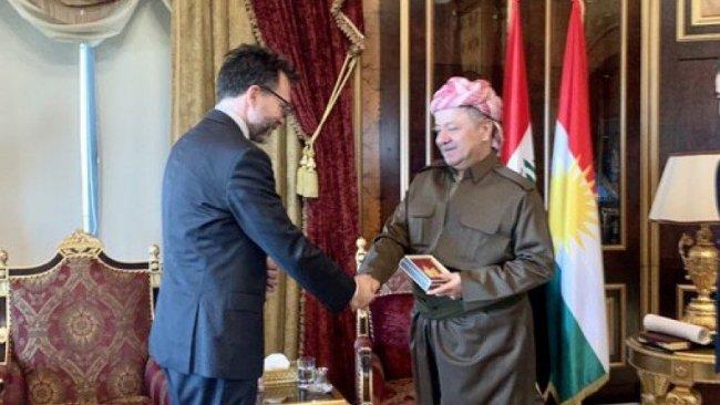 Kanada Büyükelçisi: 'Serok Barzanî' ile tanışmaktan Onur duydum