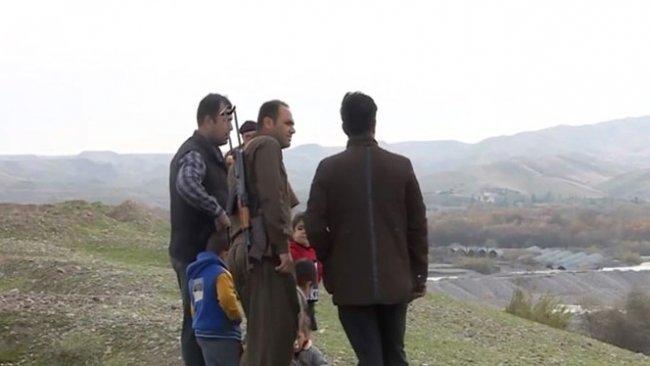 Sivil Kürtler IŞİD'e karşı silahlandı