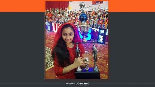 10 yaşındaki Kürt kızı matematikte Dünya Şampiyonu oldu