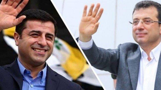 AK Parti anketinden bir kez daha İmamoğlu ve Demirtaş çıktı