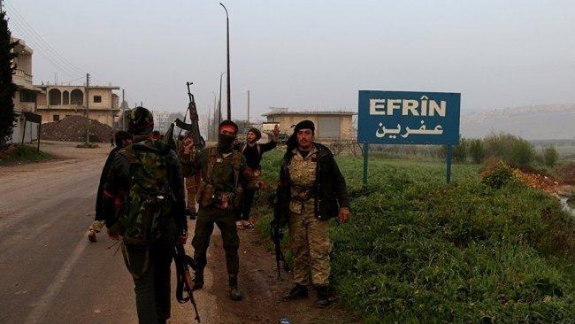 SMO mensupları Efrin'de evlere Kırmızı işaret koyuyorlar