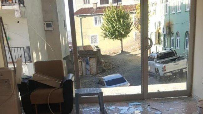 HDP Kulp ilçe binasına saldırı