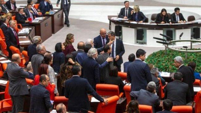 TBMM'de AKP ve HDP arasında 'işgalci' tartışması