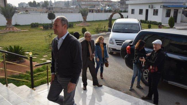 AP heyetinin Kamişlo'ya ziyareti