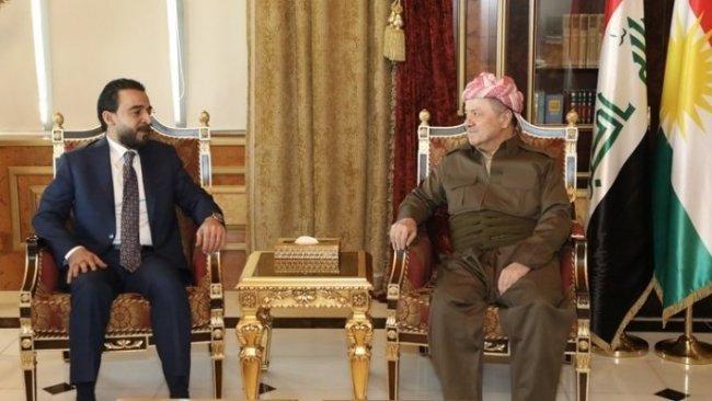 Başkan Barzani Halbusi'yle Irak'ı görüştü