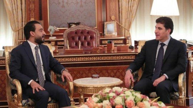 Başkan Neçirvan Barzani ile Halbusi bir araya geldi