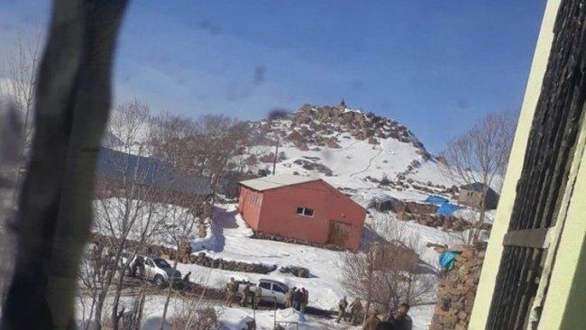 Bingöl'de mezra baskını: Altında kamp var denilerek evin içi kazıldı