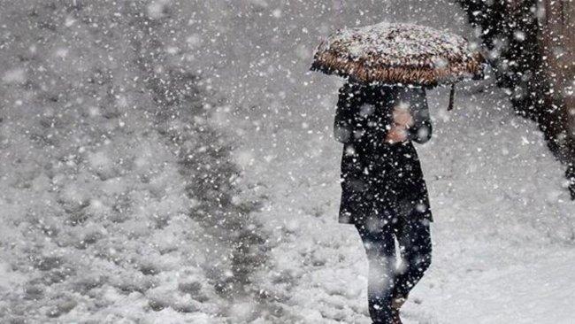 4 Kürt ili için kar ve fırtına uyarısı
