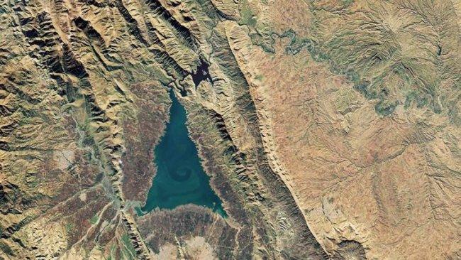NASA, Kürdistan'daki gölün fotoğrafını paylaştı
