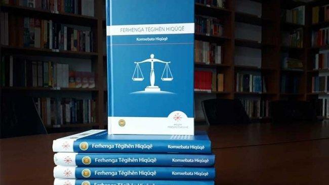 Tahir Elçi'nin yarım kalan 'Kürtçe Hukuk Terimleri Sözlüğü' tamamlandı