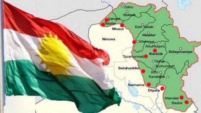 Kürdistani bölgelerle ilgili yeni çalışma