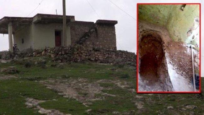 Kürt ilinde yüz yıllık türbenin içi boş çıktı