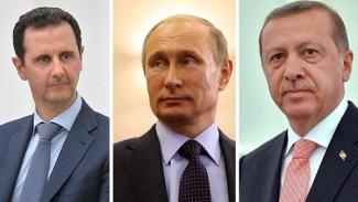 Putin'den Erdoğan ve Esad'a 'işbirliğine devam' mesajı
