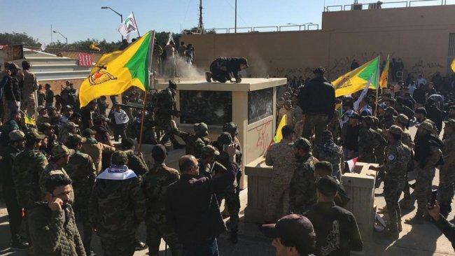 Irak'ta tansiyon yükseliyor! Haşdi Şabi taraftarlarından tehlikeli girişim