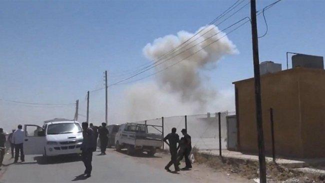 Girê Spî'de bombalı saldırı