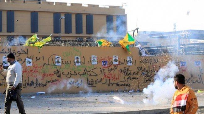 Haşdi Şabi taraftarları ABD Büyükelçiliği önünden çekildi