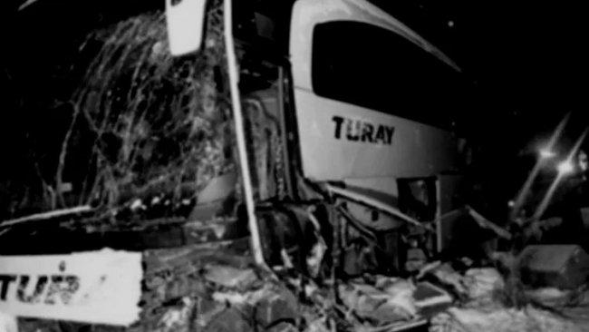 Erzincan'da trafik kazası: 17 yaralı