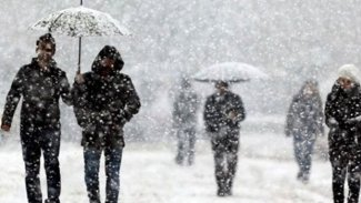 Meteoroloji'den 3 Kürt ili için kar yağışı uyarısı