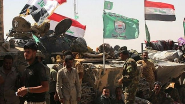 Irak'ta Haşdi Şabi Karargahı ateşe verildi