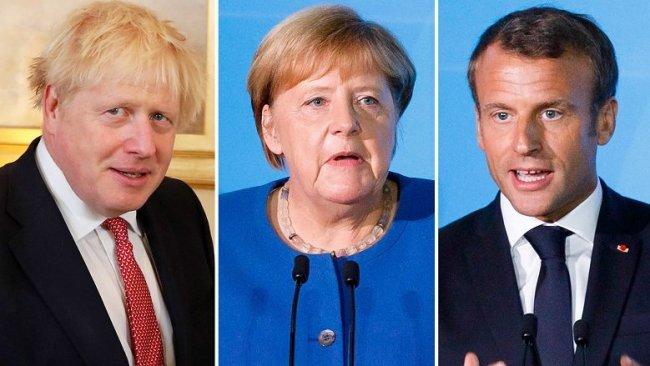 Almanya, Fransa ve İngiltere'den Irak'a kınama