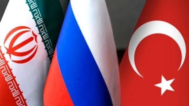 Rusya, Türkiye ve İran arasında telefon trafiği