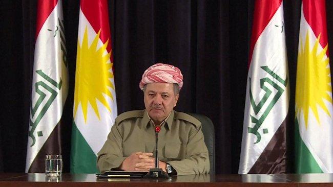 Başkan Barzani: Ülkenin vekalet savaşlarına sürüklenmesini kabul etmeyiz