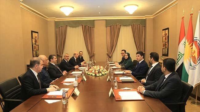 Kürdistan Yönetiminde üst düzey toplantı