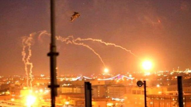 ABD askerlerinin bulunduğu Balad Üssü yakınlarına roket düştü