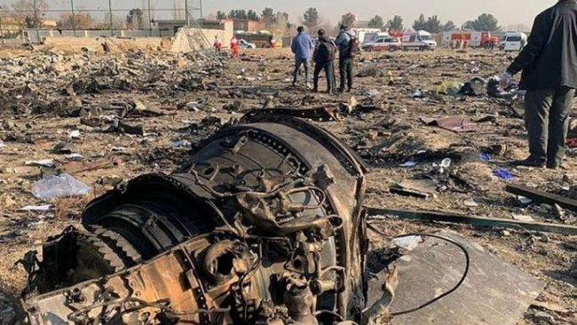 İran düşen uçağın nedenini yarın açıklayacak