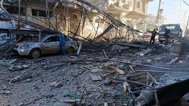 İdlib'e hava saldırısı: 17 ölü, 52 yaralı