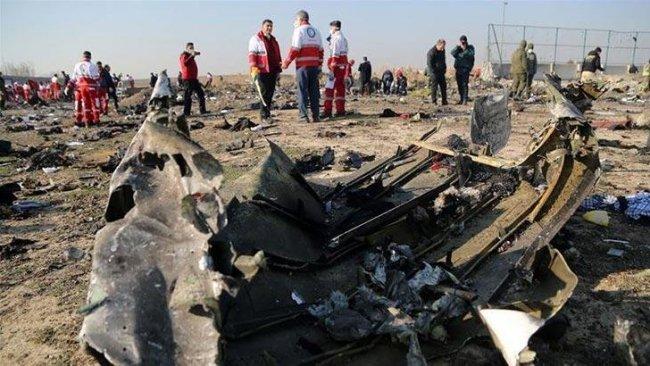 İran'dan düşen uçakla ilgili açıklama