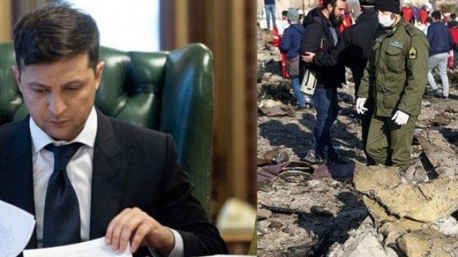 Uçağı düşürülen Ukrayna'dan İran'a ilk yanıt