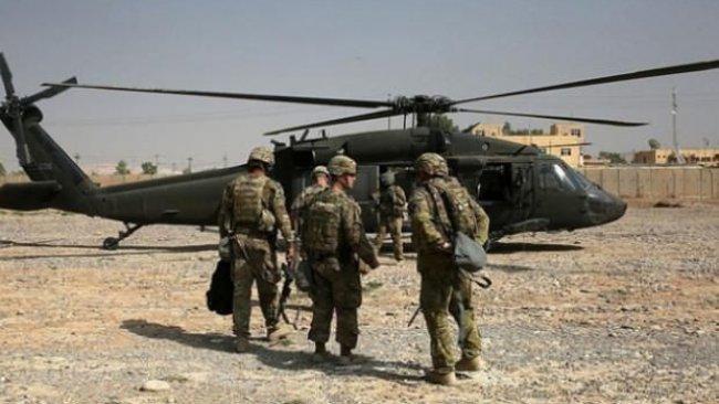 ABD askerlerinin geçişi sırasında patlama