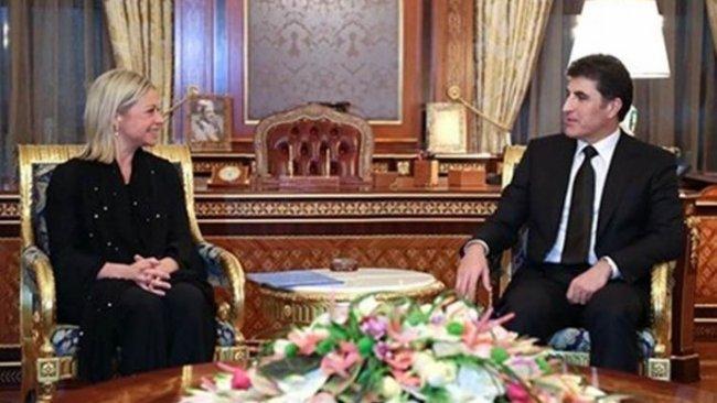 Başkan Neçirvan Barzani, BM Irak Temsilcisi ile görüştü