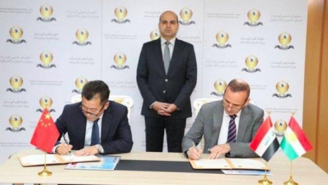 Erbil'de Çin Konsolosluğu için imzalar atıldı