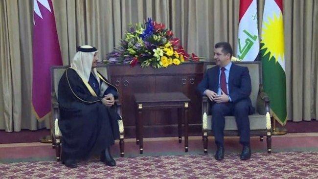 Başbakan Katar Dışişleri Bakanı'yla görüştü