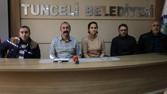 Dersim Belediyesi'nin hesaplarına haciz konuldu