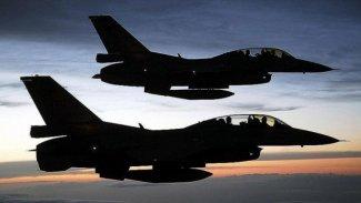 Şengal'e hava saldırısı