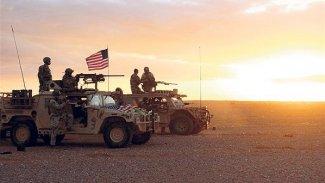 ABD askerleri Til Temir'de Rus konvoyunu engelledi