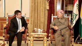 Başkan Barzani ABD'li Başkonsolos'la görüştü