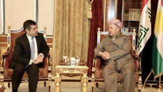 Başkan Mesud Barzani ABD'li Başkonsolos'la görüştü