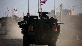 Rojava'da ABD güçlerinden Rus askerlerine engelleme