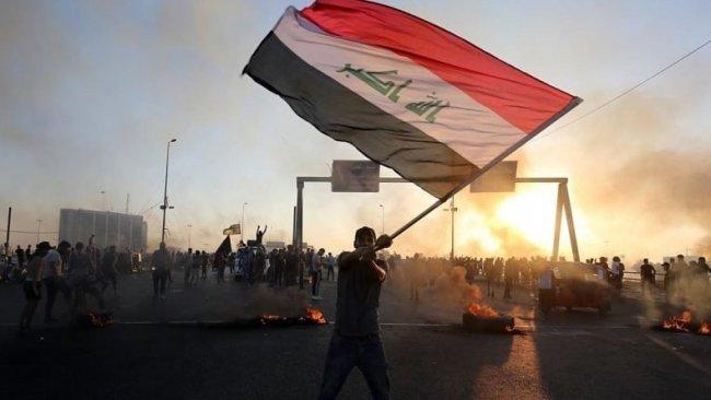Bağdat'ta göstericiler yeniden başladı
